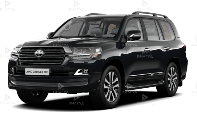 Диагностика ошибок сканером Toyota Land Cruiser в Уфе